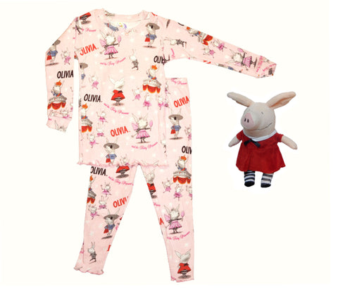 """Olivia the Piglet"" Pajamas & Plush"