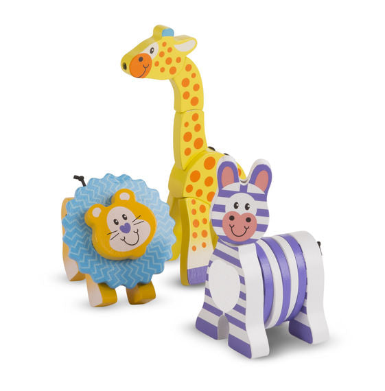 First Play Safari Grasping Toys