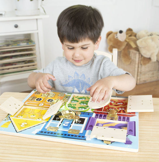 10. Latches Board (Age 3 Years+)