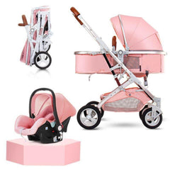 My Mom And Me Luxury Stroller - Pink