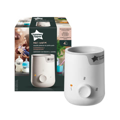 Tommee Tippee Closer to Nature Electric Baby Bottle and Food Warmer - WHITE