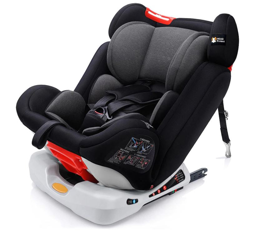 Belecoo Luxury Eggshell Twin Stroller - Brown