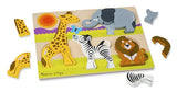 Chunky Wooden Jigsaw Puzzle - Safari (Age 2 Years+)