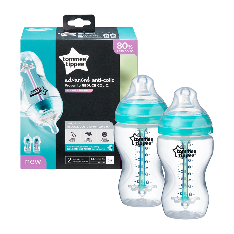 Tommee Tippee - Closer to Nature - Advanced Colic 340ML (2 Pack)