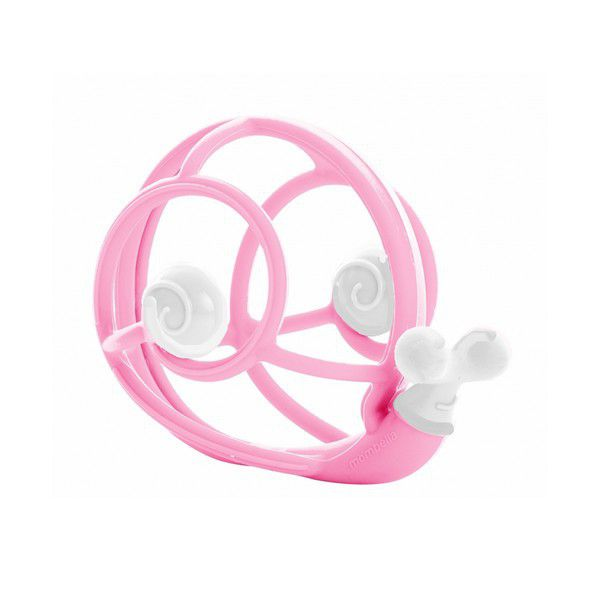 Snail Teether Rattle - Pink
