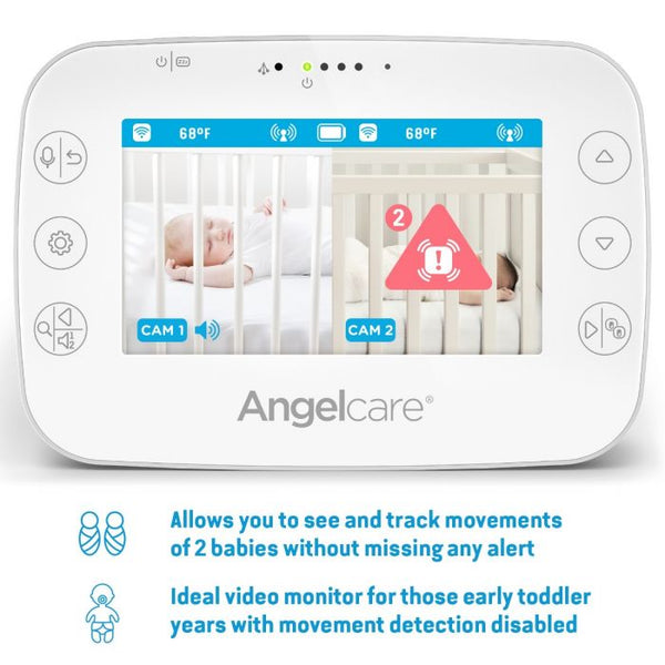 Angelcare Ac327 Video Sound And Movement Monitor