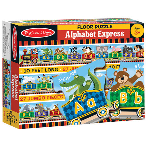30. Alphabet Express Floor Puzzle (Age 3 Years+)