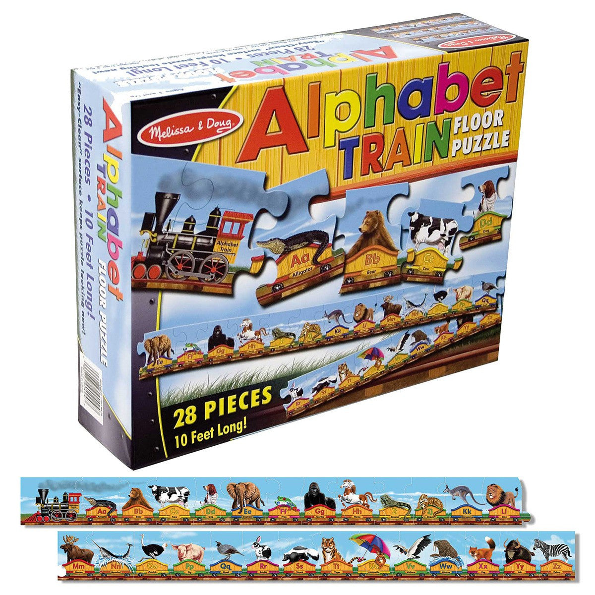31. Alphabet Train Floor Puzzle (Age 3 Years+)
