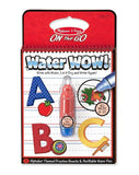 On The Go - Water Reveal Pad - Alphabet