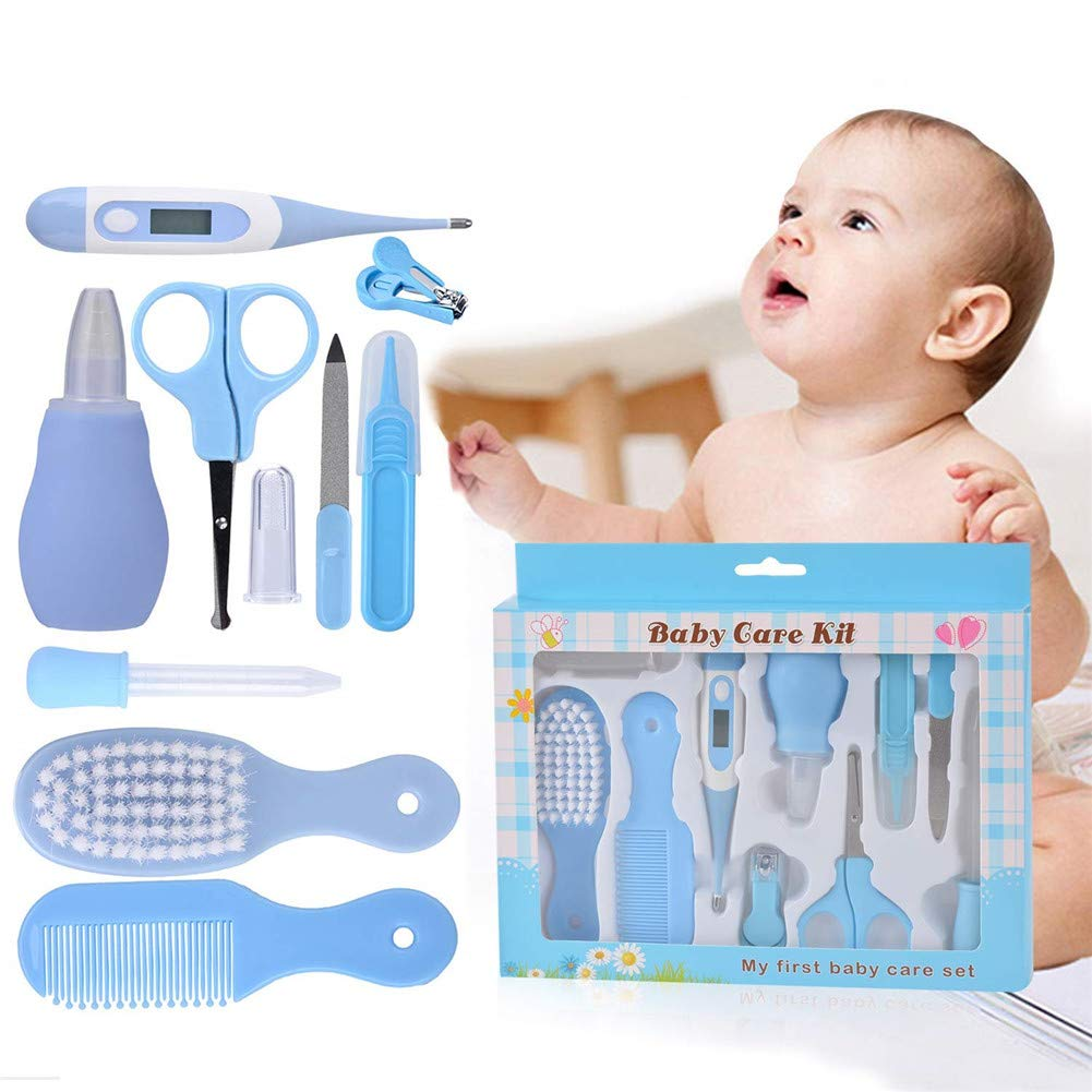 Baby Healthcare & Grooming Kit - Blue