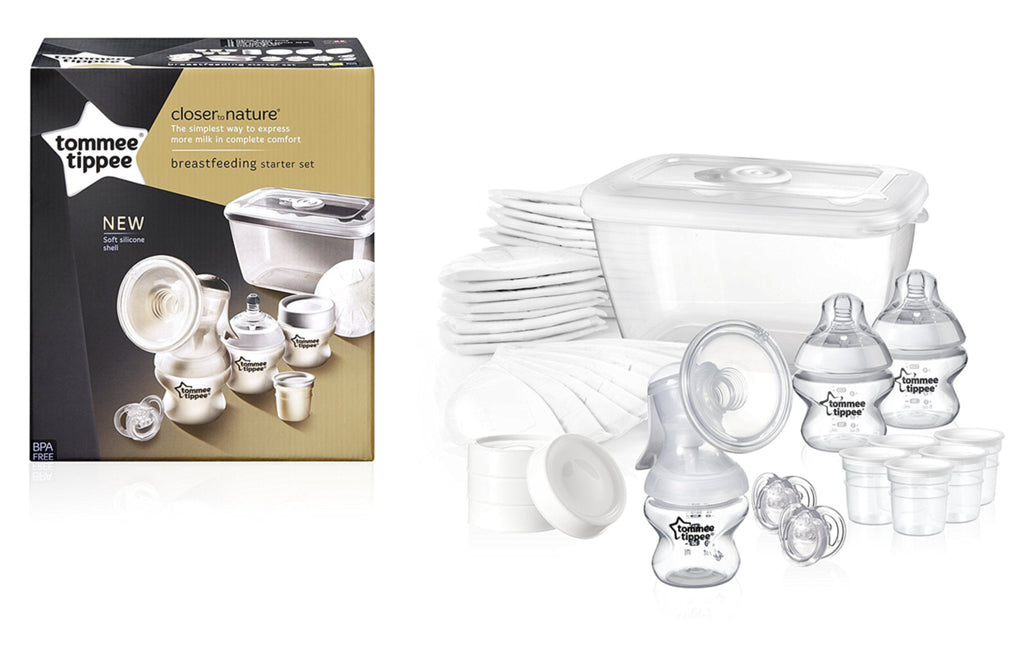 Tommee Tippee Closer to Nature Breastfeeding Starter Kit