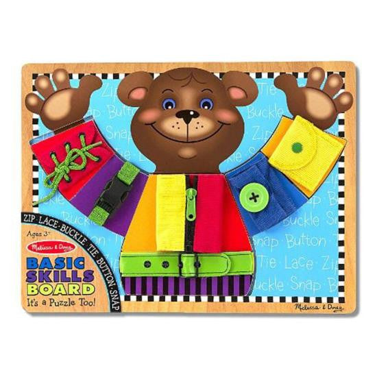 11. Basic Skills Board (Age 3 Years+)