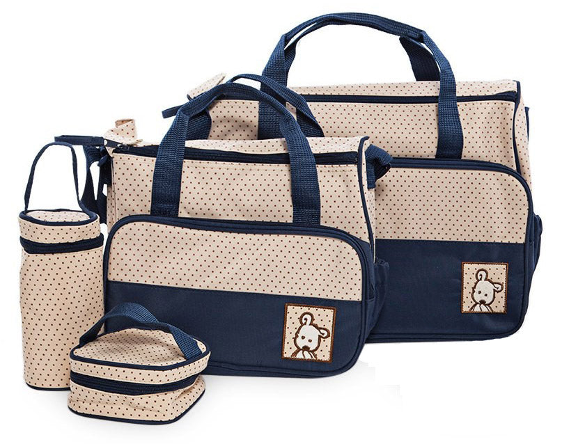e04648ff46ca Multi Function Baby Bag Set - Blue – My Mom And Me