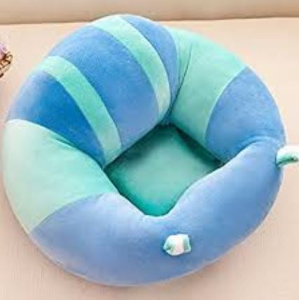 Baby Plush Chair - Blue/Green