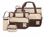 Baby Bag 4 in 1 Multifunction in Brown