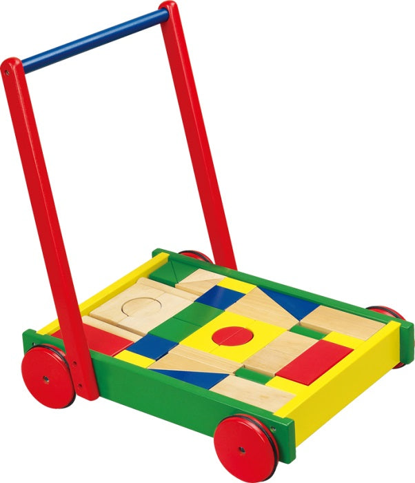 Push Along Shape Sorting Cart (Age 12 Months+)