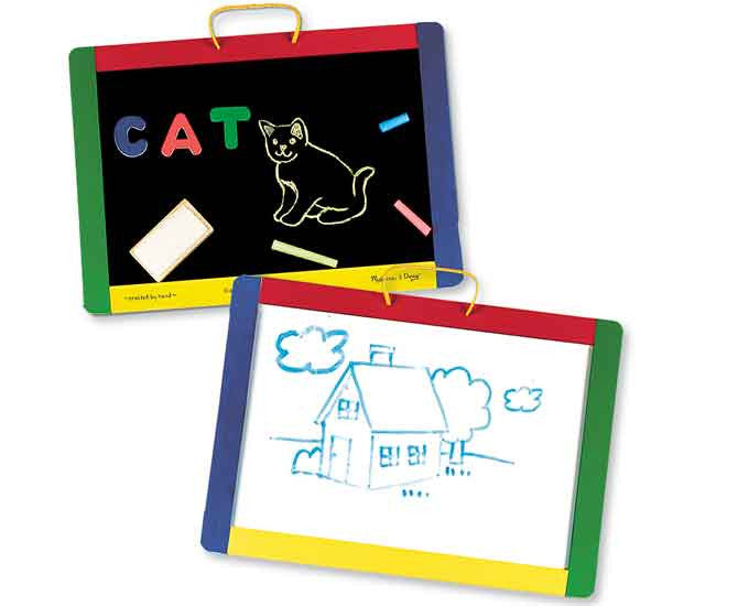 27. Magnetic Chalk & Dry Erase Board (Age 3 Years+)