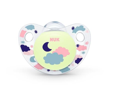 NUK - Night & Day Soother with Box - Clouds