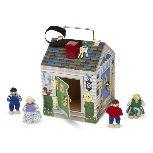 14. Deluxe Wooden Doorbell House  (Age 3 Years+)
