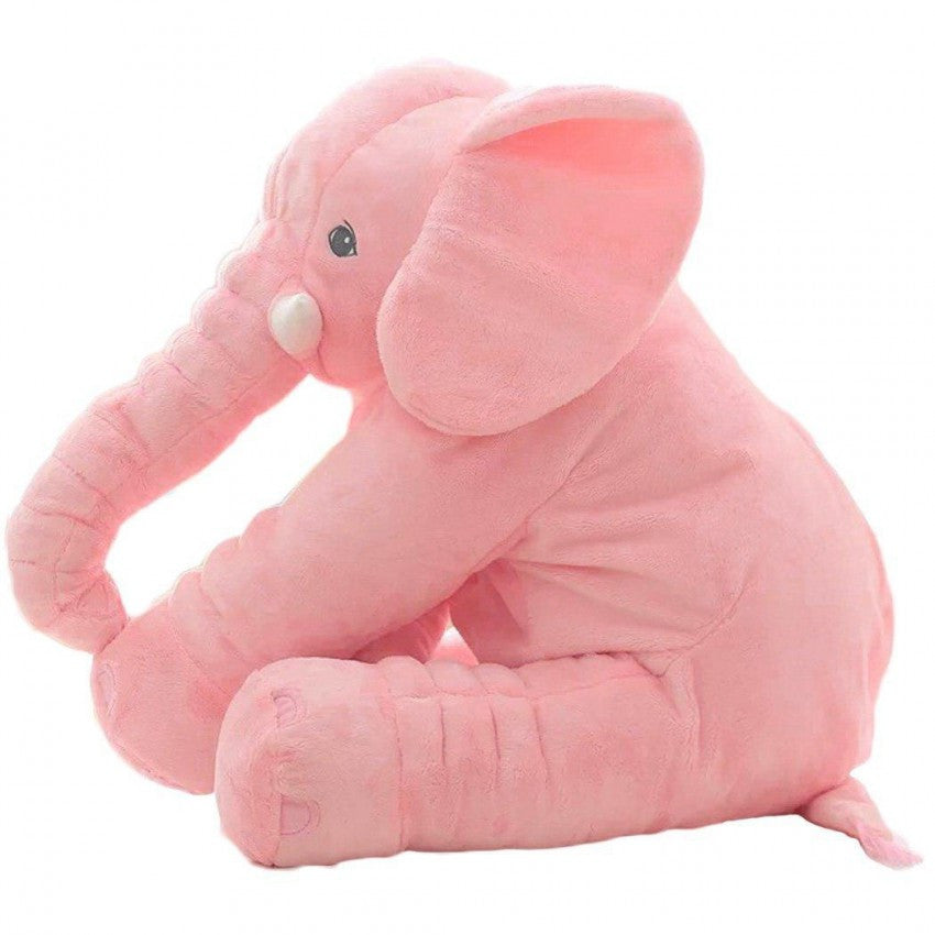 Elephant Baby Pillow - Pink