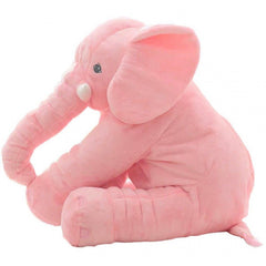 Elephant Baby Positioning Pillow Pink Plush