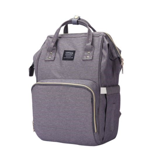 Waterproof Baby Bag Back Pack Grey