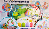 Baby Piano Fitness Rack Play Gym - Green