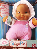 Baby's First Doll Minky So Soft Ethnic - Purple