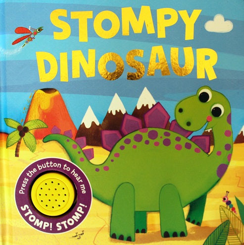 Sound Book - Stompy Dinosaur