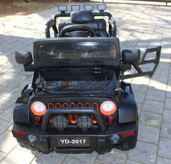 Battery Powered Buggy 2.0 12V Ride On - Black