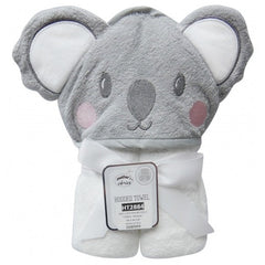 100% Cotton Hooded Towel - Koala
