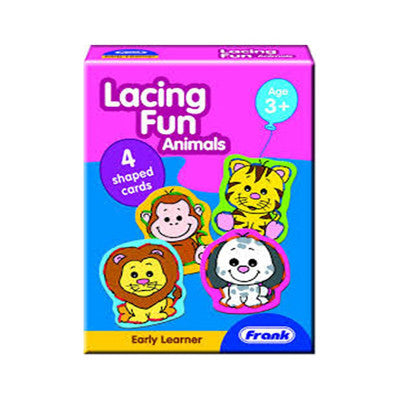 Lacing Fun - Animals (Age 3 Years+)
