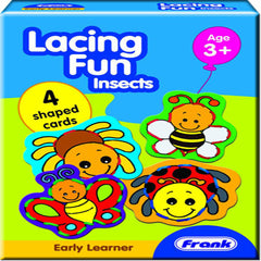 Lacing Fun - Insects (Age 3 Years+)