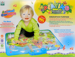 Playing & Learning Blanket - Animal Garden