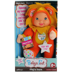 Baby's First-Sing & Learn Doll - Lion