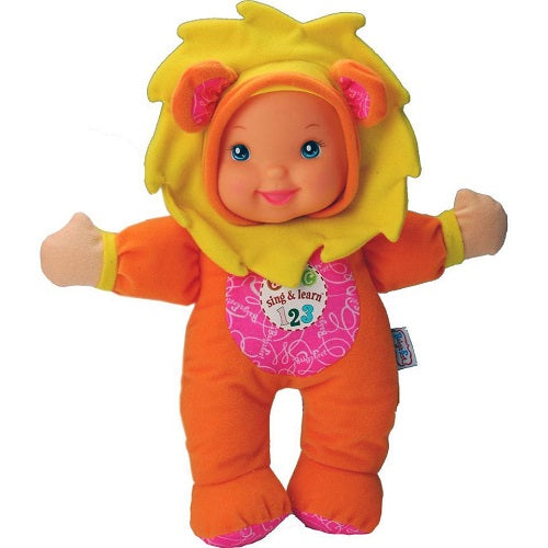 Baby S First Sing Amp Learn Doll Lion My Mom And Me