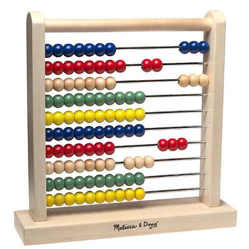 23. Wooden Abacus - 100 Beads (Age 3+)