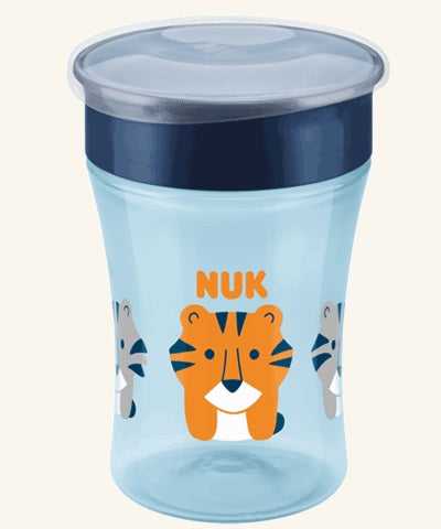 NUK - Magic Cup 230ml with drinking rim - Blue
