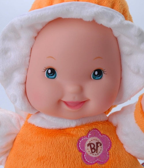 Baby's First Doll Minky So Soft - Orange