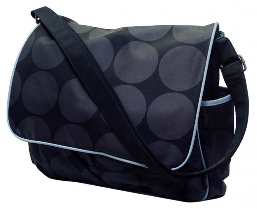 Mothers Choice Diaper Bag - Black & Blue