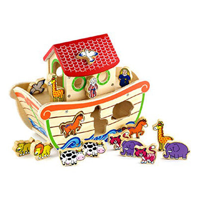 16. Noah's Ark Shape Sorter (Age 3 Years+)