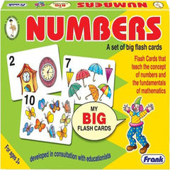 Numbers Flash Cards (Age 3 Years+)
