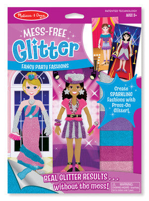 Mess-Free Glitter Fancy Party Fashions