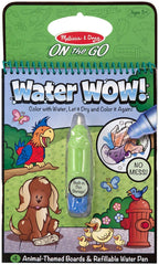 On The Go - Water Reveal Pad - Animals