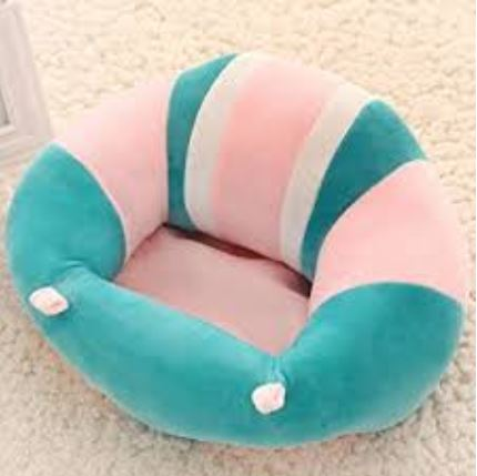 Baby Plush Chair - Blue/Pink