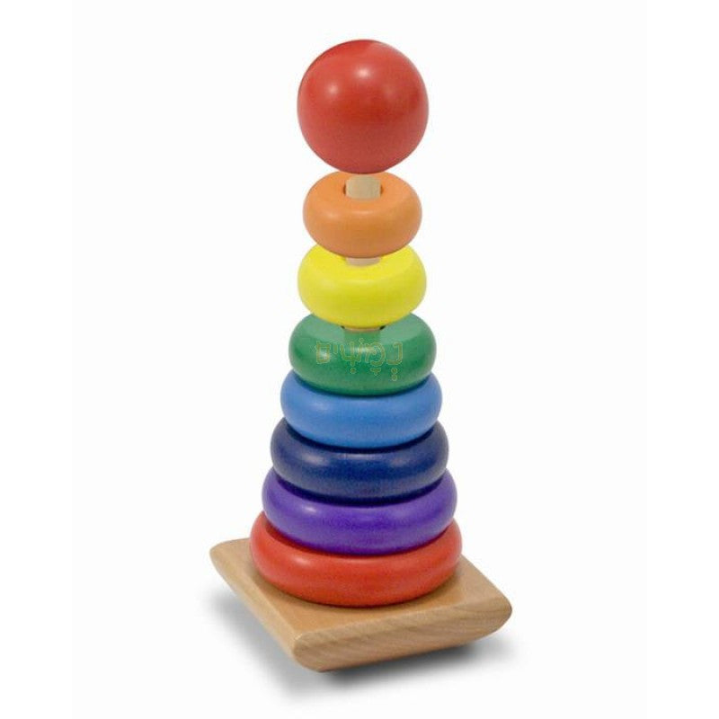 2. Rainbow Stacker (Age 18 Months+)