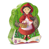 Silhouette Puzzle - Red Riding Hood (Age 4 Years+)