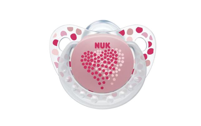 NUK - Trendline Soother with Box - Rose Love
