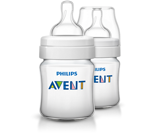AVENT - Twin Pack Feeding Bottle Classic +  125ml