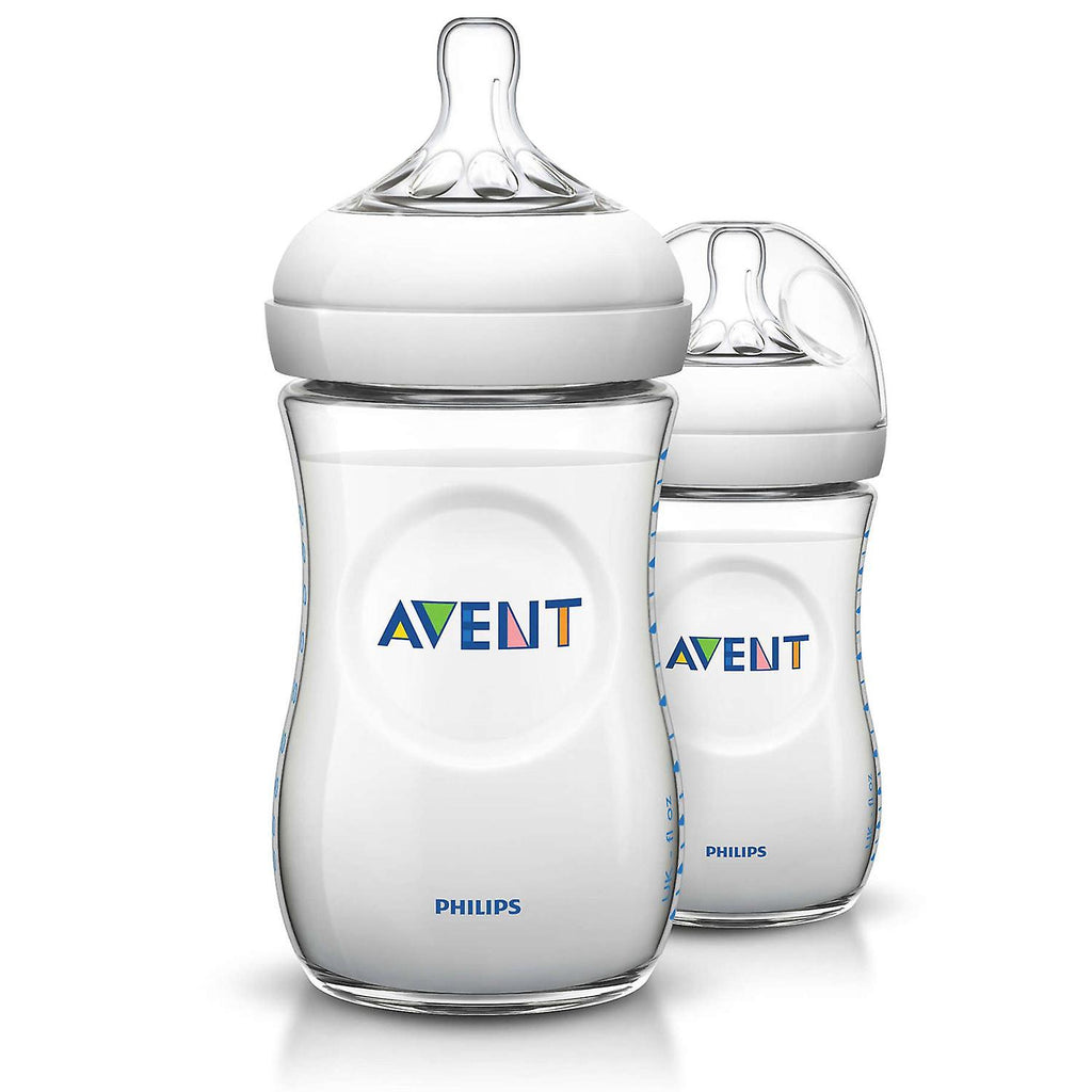 Avent - Twin Pack Natural Feeding Bottle - 260ml